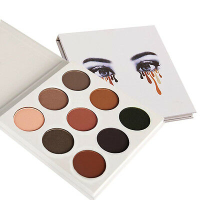 9 Couleur Kit Maquillage Eye Shadow Shimmer Matte Cosmetic Eyeshadow Palette AF