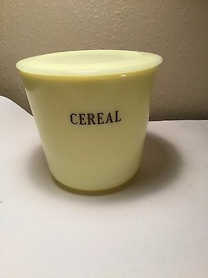 McKee Seville Yellow Cereal Canister with Lid
