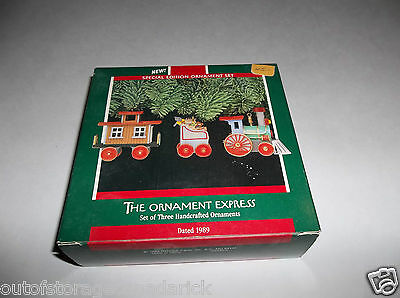Hallmark Handcrafted Ornament The Ornament Express 1989 QX5805 - New