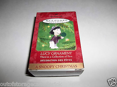 Hallmark Ornament Lucy 2000 3rd In Series QRP4174 - New