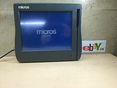 "Micros Workstation 4 12"" Touchscreen POS Terminal 500614-001~UNIT 1 ~FREE SHIP"