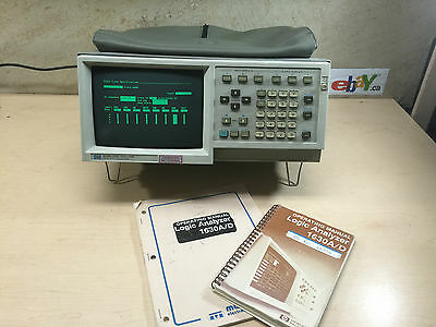 Hp 1630G Logic Analyzer With Probes~Free Shipping!