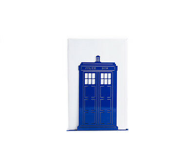 Atelier Article - Gift Steel bookend - Doctor Who Tardis Police Box (Dark Blue)