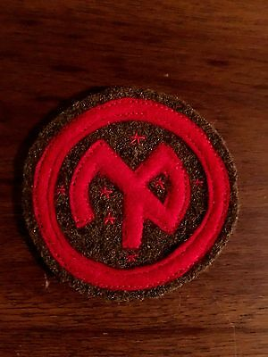 WWI US Army patch 27th Division Patch AEF