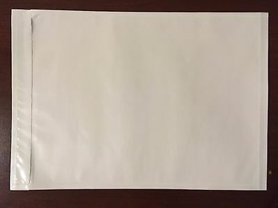 "1000 7"" x 10"" Packing List Envelopes - Clear"