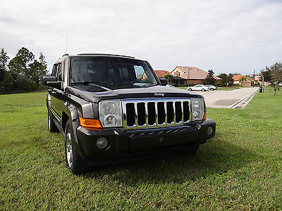 2006 Jeep Commander Limited 5.7 HEMI 4WD 2006 JEEP COMMANDER LIMITED V8 5.7L HEMI 4WD 7 SEATS  GOOD CONDITION CLEAR TITLE