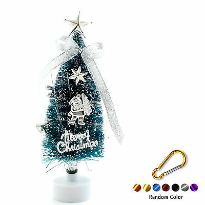 Multi Colour LED Changing Light Up Xmas Fibre Optic Tree Decoration +Buckle Y