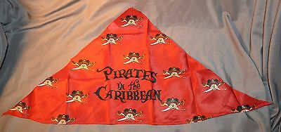 2 NEW Disney Cruise Line DCL Mickey Mouse Pirates in the Caribbean Bandana Scarf