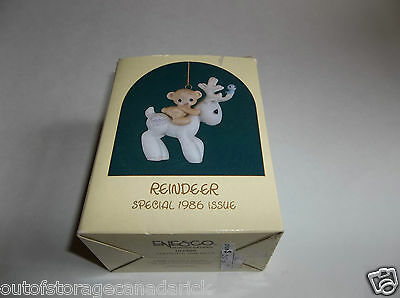 1986 Precious Moments Reindeer Special Issue 102466