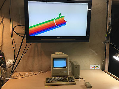 Macintosh Plus 1Mb~External Scsi~Keyboard Mouse~Needs Os Free Ship