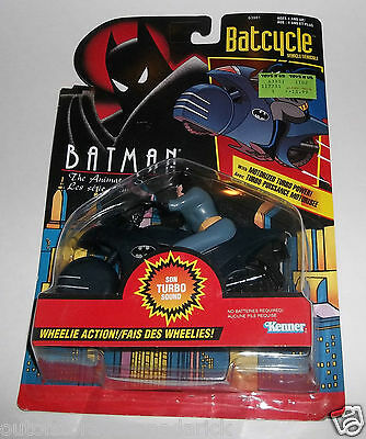 Batman The Batcycle Vehicle With Wheelie Action & Turbo Sound MOC Kenner Canada