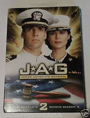 JAG - The Complete Second Season (DVD, 2006, 4-Disc Set) Brand New Sealed