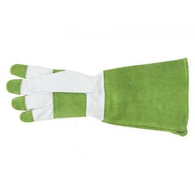 Long Sleeve Sprout Olive Ladies Garden Gloves Goat Skin Gardening New Womens
