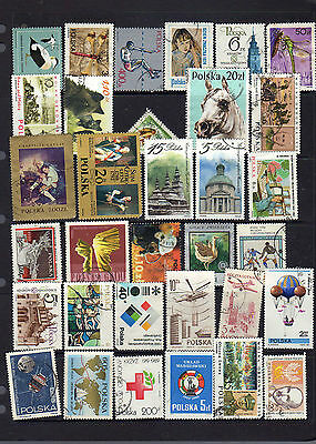 2 pages of stamps from Poland - see scans lot 2