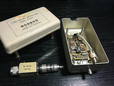 Hp 423A (Neg) Crystal Detector With Rantec Model Et-300D-Ab Time Delay Detector
