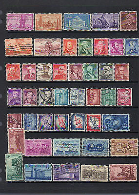 45 early issues from the US - see scan