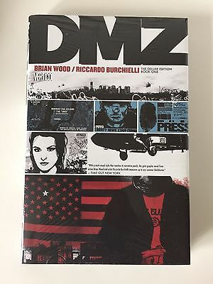 DMZ Deluxe HC Hardcover Book 1 One Brian Wood SEALED