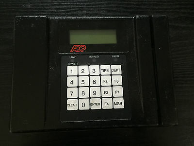 AccuTime ADP Series 4001 Time Clock & Data Collection Terminal~FREE SHIP