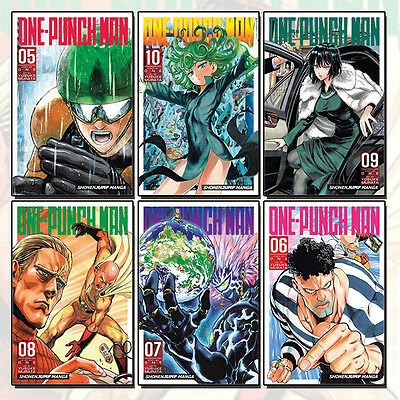 One-Punch Man Series (Vol 5 - 10) Collection 6 Books Set, Paperback NEW Pack