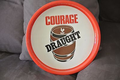 courage beer tray