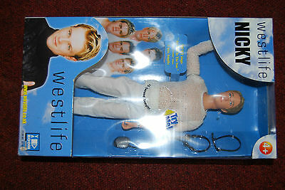 Westlife Doll 'Nicky' Collectable Vintage