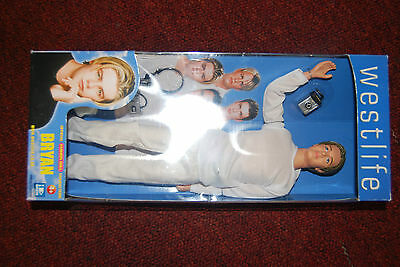 Westlife 'Bryan' Doll Collectable NEAR MINT