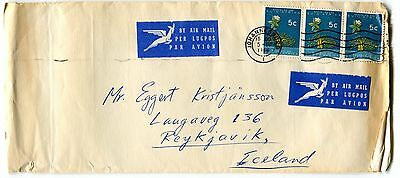 South Africa to Iceland Fine Cover 1966