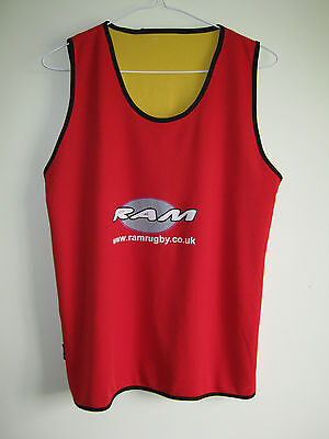 Ram Rugby reverable training top size XL