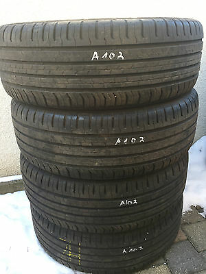 4 Sommerreifen 215/55R17 94V Continental ContiEcoContact 5