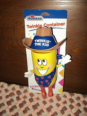 Hostess Twinkie The Kid Plastic Twinkie Container Character NIP