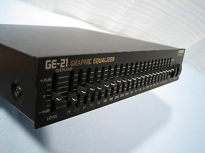 BOSS GE-21 Graphic Equalizer Half Rack Series / Made in Japan / Free Shipping