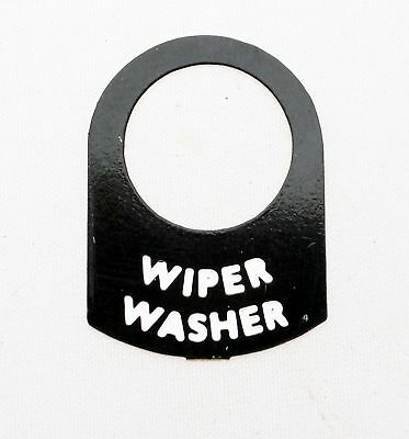 Land Rover Series 1 2  2a WIPER WASHER SWITCH legend