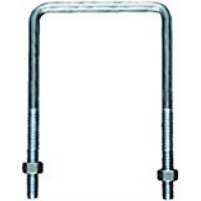 Hooks, Brackets & Curtain Rods Stanley National Hardware 2192BC #667-3/8x3-5/8x7 Zinc Plated U Bolt w/o Plat Hardware