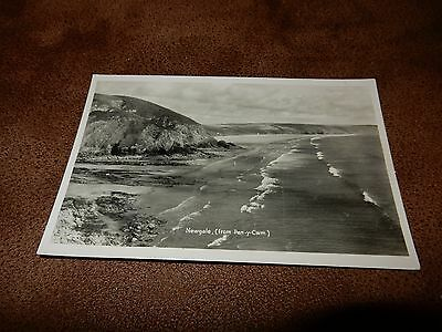 Mendus Real Photo postcard- Newgale  - Pembrokeshire Wales