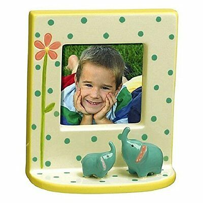Cute Elephant Figures Mini Picture Frame for 2.5 x 2.5 Photo