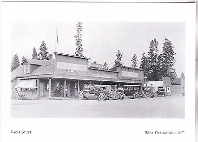 "*Postcard-""The Eagle Store"" /abt 1920/  *W Yellowstone, MT (#273)"