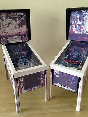 The Twilight Zone & Bride Of Pinbot Miniature Pinball Tables