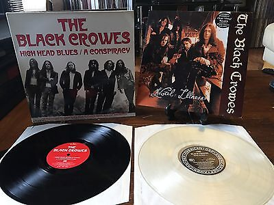 """The Black Crowes 2x 12"""" Singles ( Excellent Condition)"""