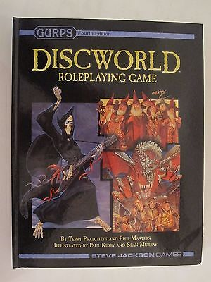 GURPS -  Discworld Roleplaying Game - Terry Pratchett