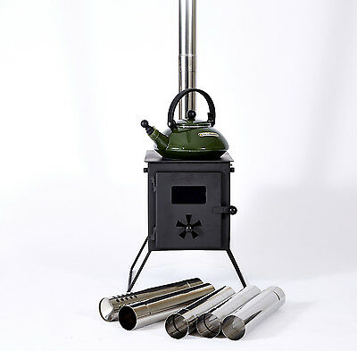 Outbacker® 'Firebox' Portable Wood Burner, Camping Stove With Free Carry Bag