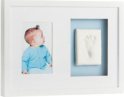 Pearhead Babyprints Keepsake Wall Frame, White Discontinued by Manufacturer