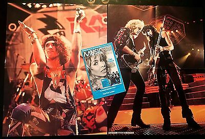 RATT Dancing Undercover Poster Lot 1986-'87 TOUR + CRC Cover! CD/LP/Vinyl/Album