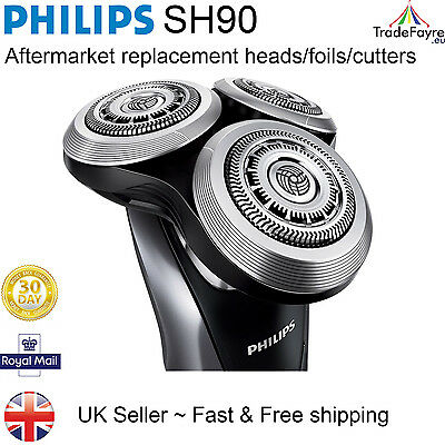Philips SH90 AFTERMARKET SHAVING HEADS/FOILS/CUTTERS for series 9000 or RQ12+