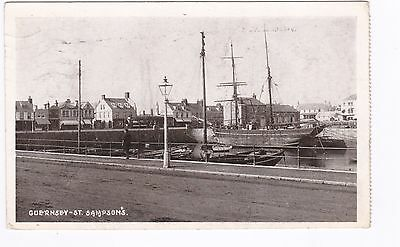 Guernsey Postcard. St Sampson's . Harbour, Shipping. Used 1926