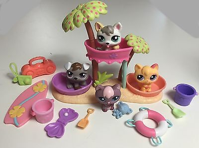 ✨Littlest Pet Shop Lot✨ RARE & HTF Adorable Kittens & Puppies with Accessories