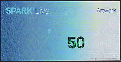 "Test Note SICPA Switzerland - ""Spark Live"" feature type #5 Specimen"