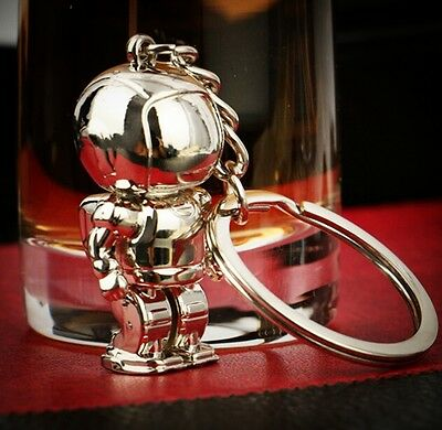 FD3139 Creative Space Robot Astronaut Key Chain Ring Keyring Holiday Gift 1pc