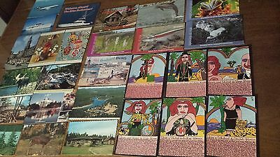 Lot Of 27 Post Cards From Different Country