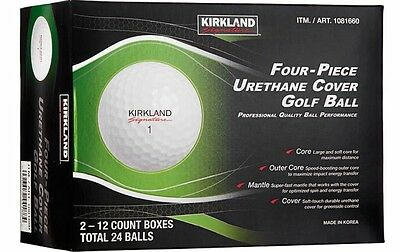 One Dozen Kirkland Costco Golf Balls