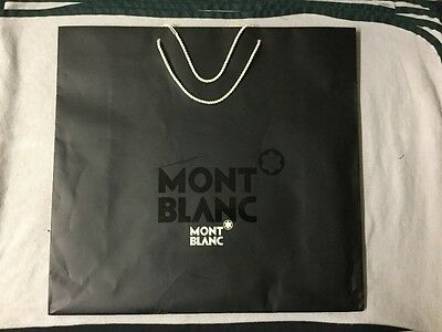 Mont Blanc Gift Carrier Bag (Large) 50x47x18cm